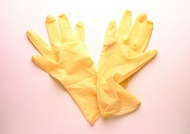 Textured Latex Gloves